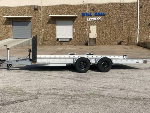 2020 Futura Lowering trailer tandem aluminum for sale at EA Motorgroup in Austin TX