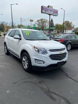 2017 Chevrolet Equinox for sale at Dream Auto Sales in South Milwaukee WI