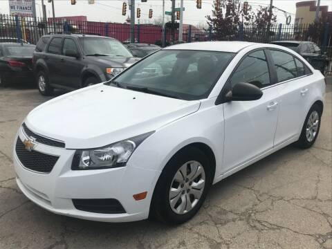 2013 Chevrolet Cruze for sale at SKYLINE AUTO in Detroit MI
