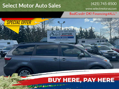 2016 Toyota Sienna for sale at Select Motor Auto Sales in Lynnwood WA
