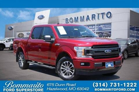 2019 Ford F-150 for sale at NICK FARACE AT BOMMARITO FORD in Hazelwood MO