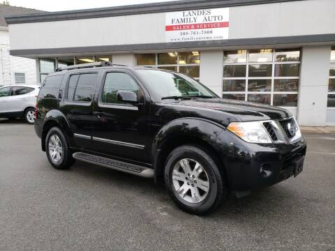 2010 Nissan Pathfinder for sale at Landes Family Auto Sales in Attleboro MA
