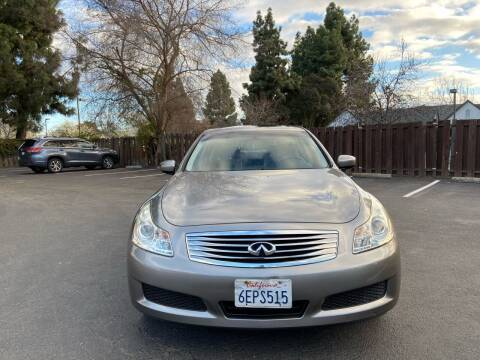 2009 Infiniti G37 Sedan for sale at OPTED MOTORS in Santa Clara CA