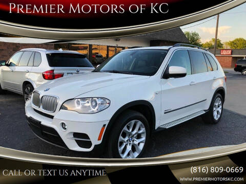 2013 BMW X5 for sale at Premier Motors of KC in Kansas City MO