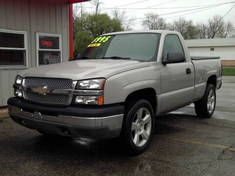 2004 Chevrolet Silverado 1500 for sale at Midwest Auto & Truck 2 LLC in Mansfield OH