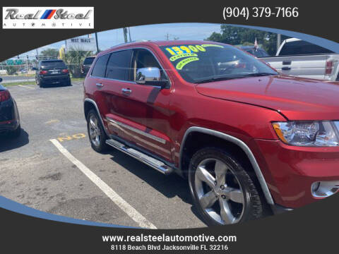 2011 Jeep Grand Cherokee for sale at Real Steel Automotive in Jacksonville FL