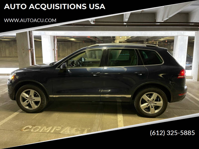 2014 Volkswagen Touareg for sale at AUTO ACQUISITIONS USA in Eden Prairie MN