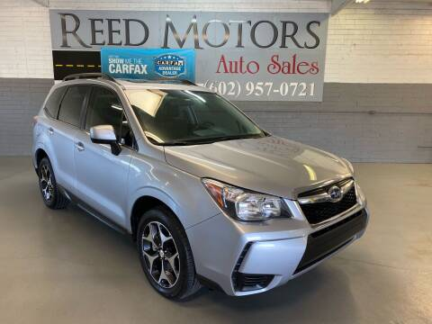 2016 Subaru Forester for sale at REED MOTORS LLC in Phoenix AZ