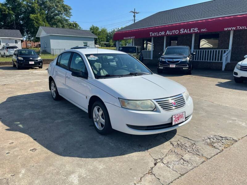 2006 Saturn Ion for sale at Taylor Auto Sales Inc in Lyman SC
