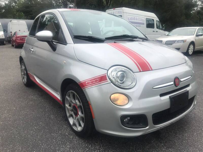 2012 FIAT 500 for sale at 303 Cars in Newfield NJ