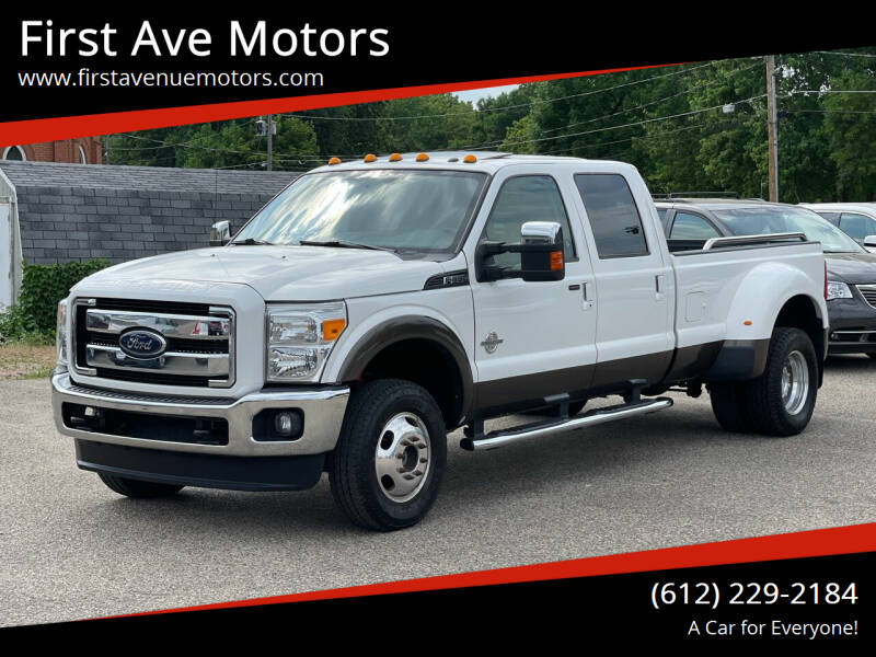 2015 Ford F-350 Super Duty for sale at First Ave Motors in Shakopee MN