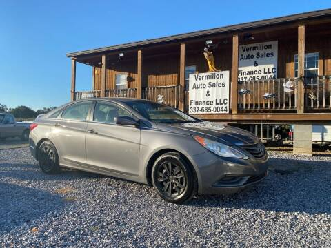 2011 Hyundai Sonata for sale at Vermilion Auto Sales & Finance in Erath LA