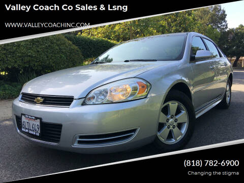 2009 Chevrolet Impala for sale at Valley Coach Co Sales & Lsng in Van Nuys CA