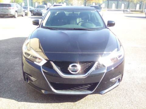 2018 Nissan Maxima for sale at JOE BULLARD USED CARS in Mobile AL