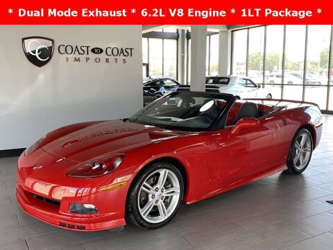 2009 Chevrolet Corvette for sale at Coast to Coast Imports in Fishers IN