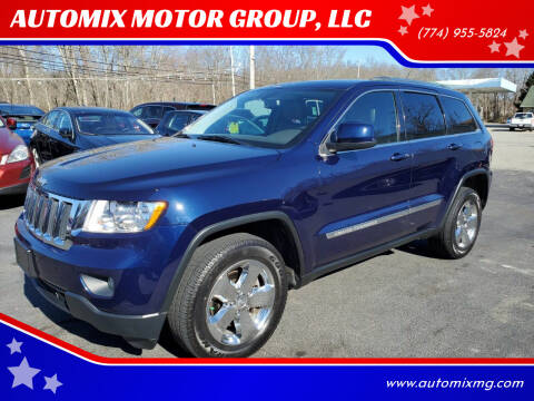 2012 Jeep Grand Cherokee for sale at AUTOMIX MOTOR GROUP, LLC in Swansea MA