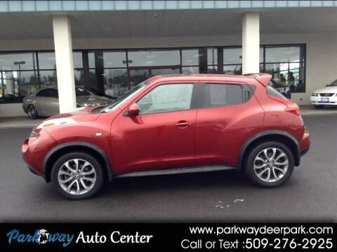 2011 Nissan JUKE for sale at PARKWAY AUTO CENTER AND RV in Deer Park WA