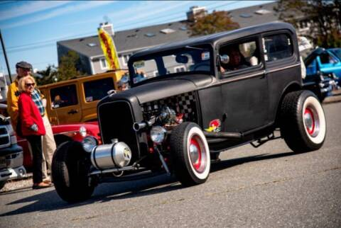 1932 Ford Tudor for sale at Classic Car Deals in Cadillac MI