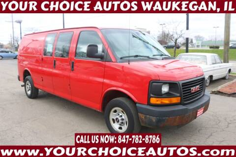 2007 GMC Savana Cargo for sale at Your Choice Autos - Waukegan in Waukegan IL