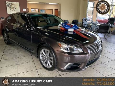 2015 Lexus LS 460 for sale at Amazing Luxury Cars in Snellville GA