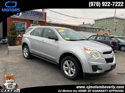 2011 Chevrolet Equinox for sale at CJ Motors Inc. in Beverly MA