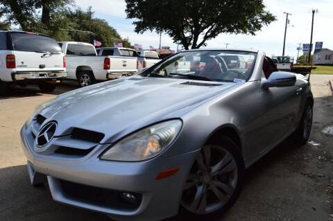 2009 Mercedes-Benz SLK for sale at E-Auto Groups in Dallas TX