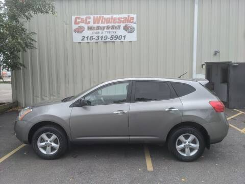 2010 Nissan Rogue for sale at C & C Wholesale in Cleveland OH