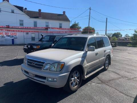 2004 Lexus LX 470 for sale at 4X4 Rides in Hagerstown MD