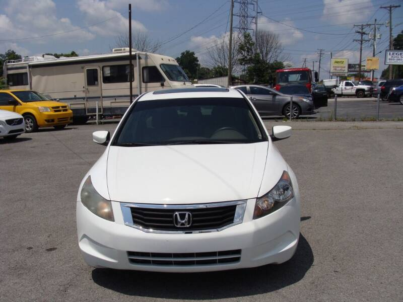 2008 Honda Accord for sale at Knoxville Used Cars in Knoxville TN