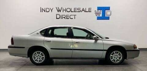 2000 Chevrolet Impala for sale at Indy Wholesale Direct in Carmel IN