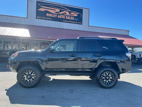 2020 Toyota 4Runner for sale at Ridley Auto Sales, Inc. in White Pine TN