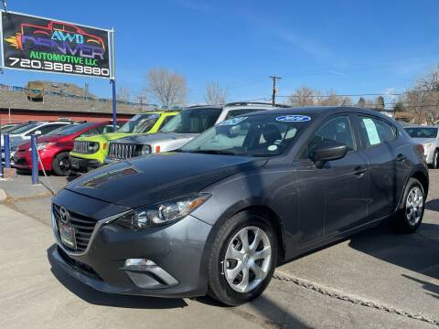 2016 Mazda MAZDA3 for sale at AWD Denver Automotive LLC in Englewood CO