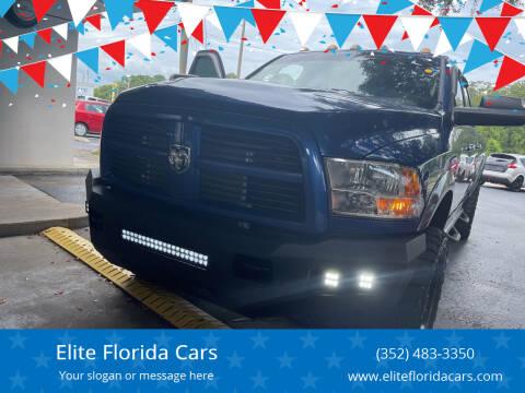 2011 RAM Ram Pickup 3500 for sale at Elite Florida Cars in Tavares FL