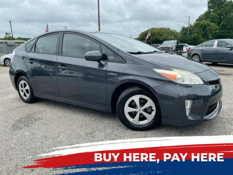 2014 Toyota Prius for sale at Rodgers Enterprises in North Charleston SC