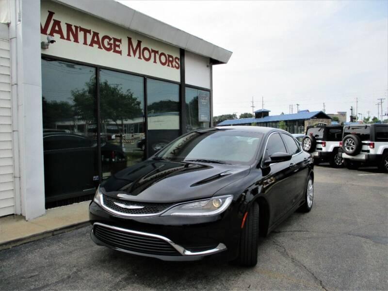 2016 Chrysler 200 for sale at Vantage Motors LLC in Raytown MO