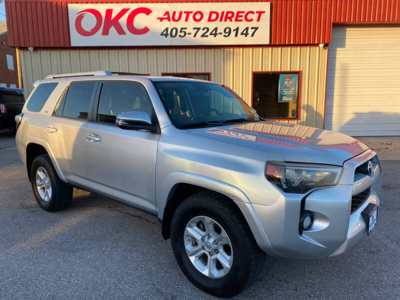 2014 Toyota 4Runner for sale at OKC Auto Direct in Oklahoma City OK