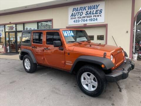 2011 Jeep Wrangler Unlimited for sale at PARKWAY AUTO SALES OF BRISTOL in Bristol TN