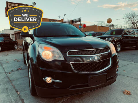 2013 Chevrolet Equinox for sale at 3 Brothers Auto Sales Inc in Detroit MI