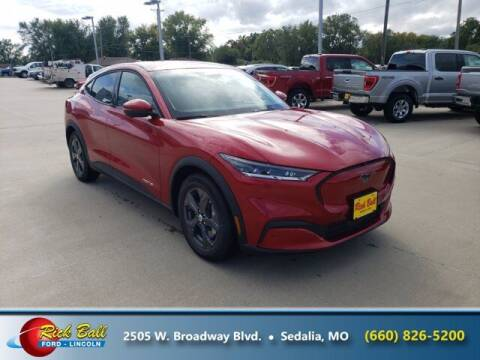 2021 Ford Mustang Mach-E for sale at RICK BALL FORD in Sedalia MO