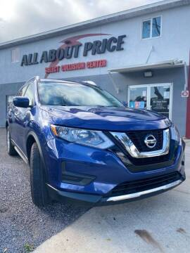 2017 Nissan Rogue for sale at All About Price in Bunnell FL