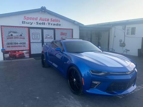 2016 Chevrolet Camaro for sale at Speed Auto Sales in El Cajon CA