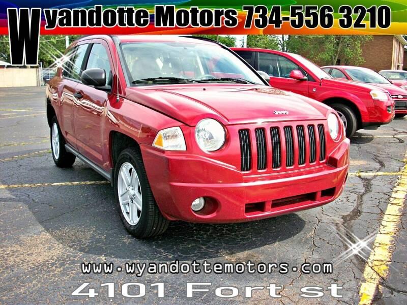 2007 Jeep Compass for sale at Wyandotte Motors in Wyandotte MI