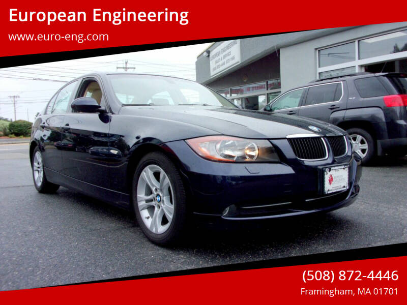 2008 BMW 3 Series for sale at European Engineering in Framingham MA