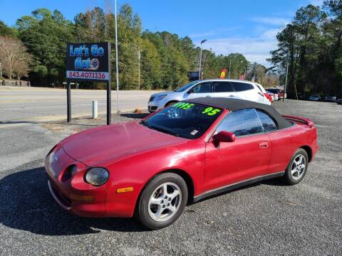 1995 Toyota Celica for sale at Let's Go Auto in Florence SC