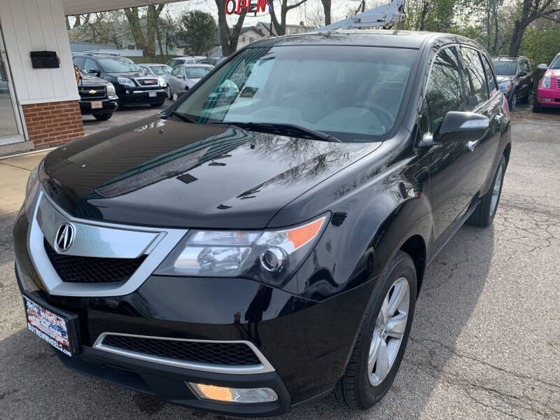 2010 Acura MDX for sale at New Wheels in Glendale Heights IL