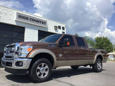 2011 Ford F-250 Super Duty for sale at High Country Motor Co in Lindon UT