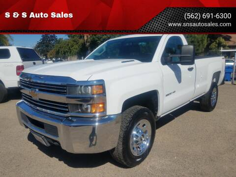 2015 Chevrolet Silverado 3500HD for sale at S & S Auto Sales in La  Habra CA