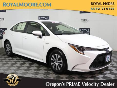 2021 Toyota Corolla Hybrid for sale at Royal Moore Custom Finance in Hillsboro OR