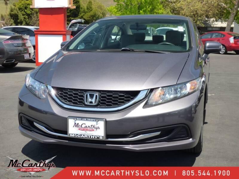 2014 Honda Civic for sale at McCarthy Wholesale in San Luis Obispo CA