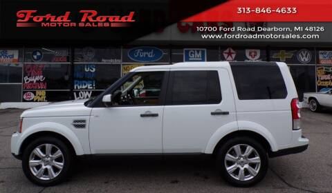 2013 Land Rover LR4 for sale at Ford Road Motor Sales in Dearborn MI